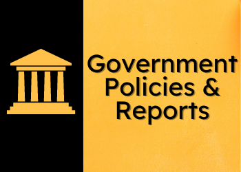 Govt. Policies & Reports