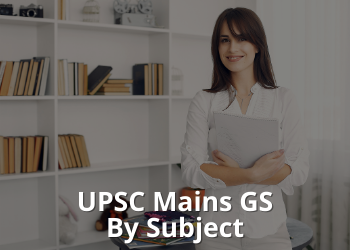 UPSC Mains GS By Subject