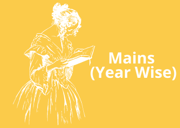 Mains (Year Wise)