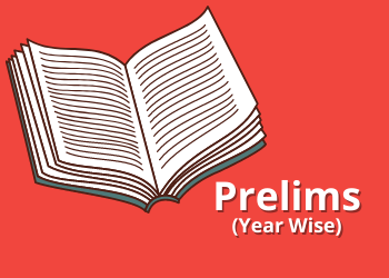 Prelims(Year Wise)