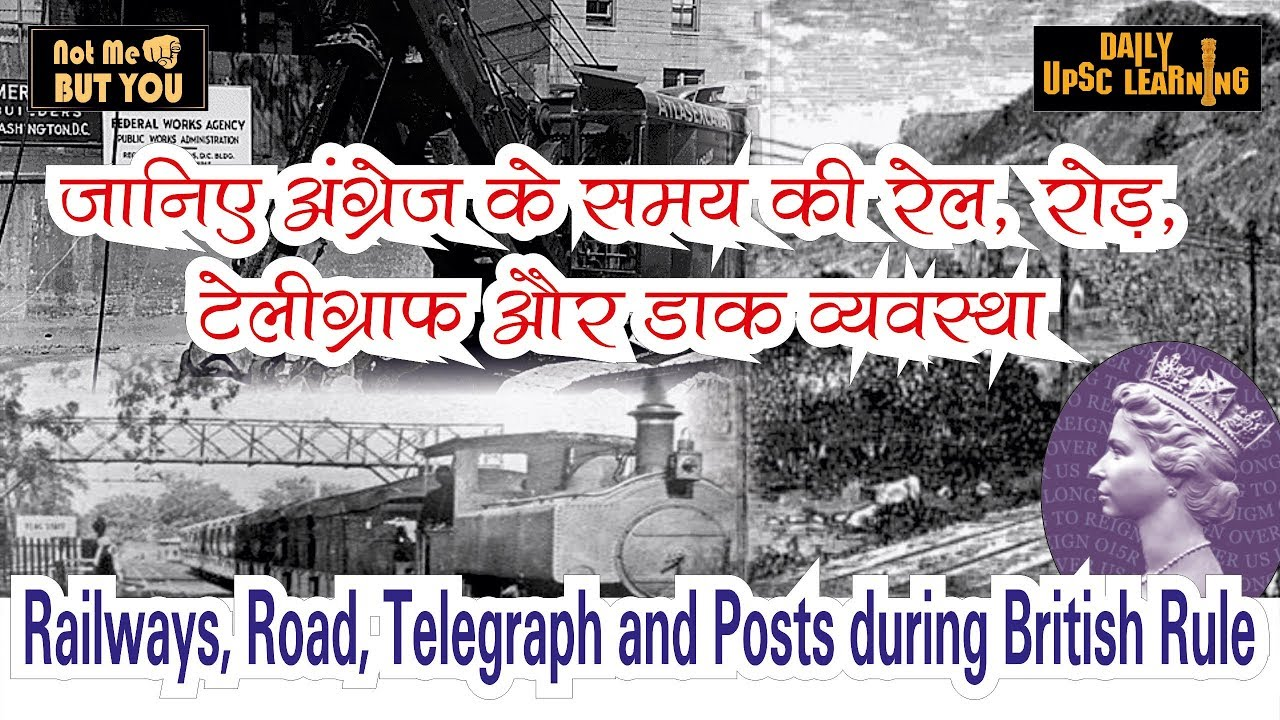 Railways-Road-Telegraph-Posts