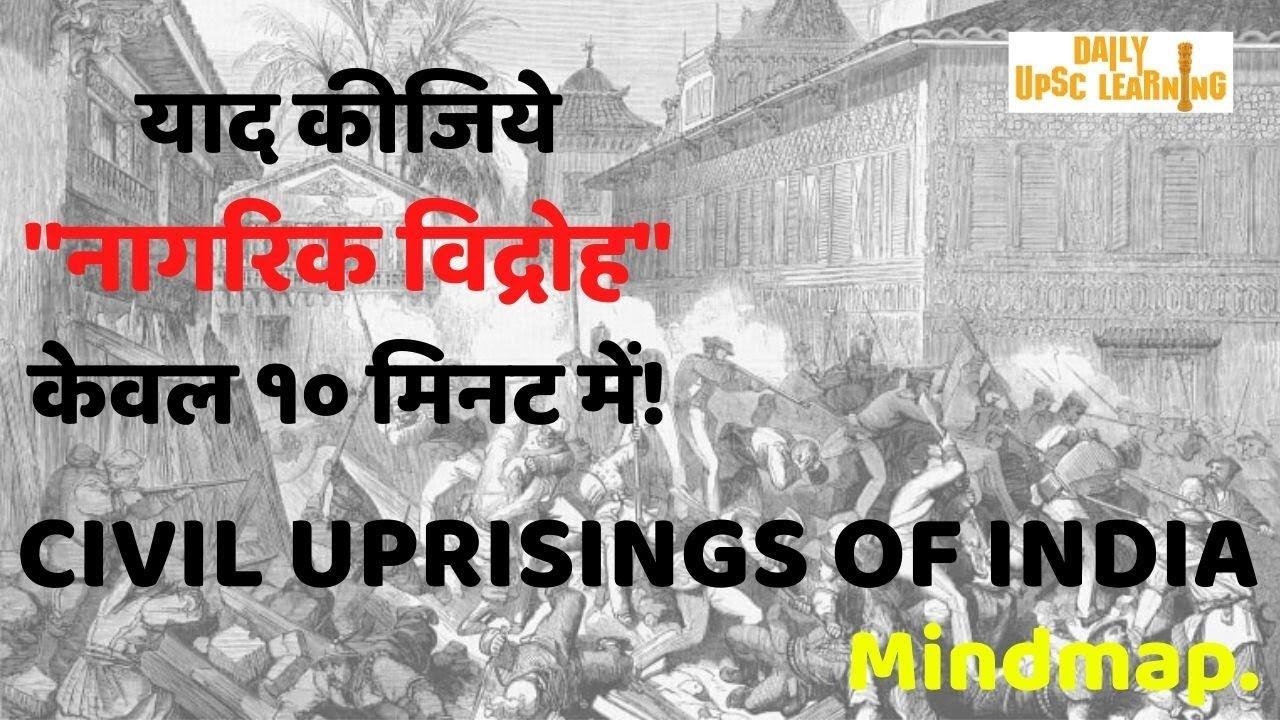 Civil-Uprising-Mindmap