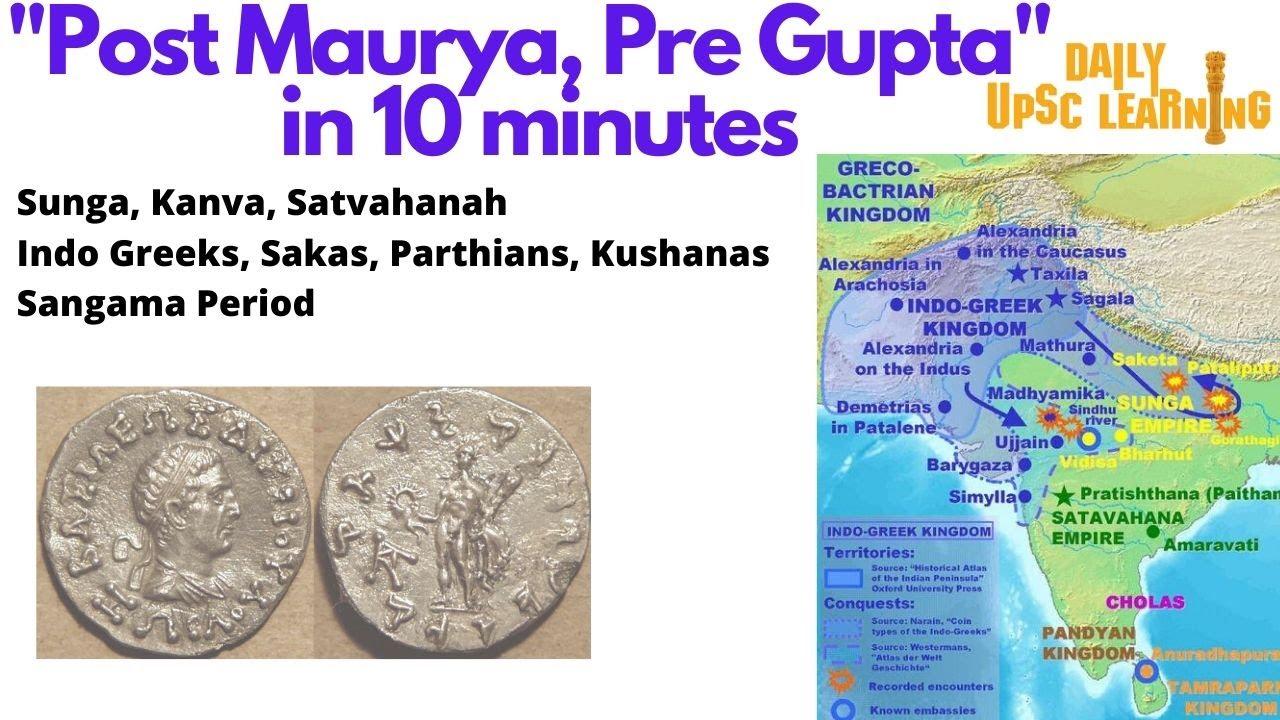 Post-Maurya-Pre-Gupta-Sangama