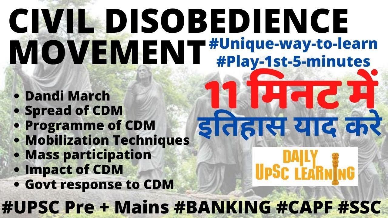 Civil-Disobedient-Movement